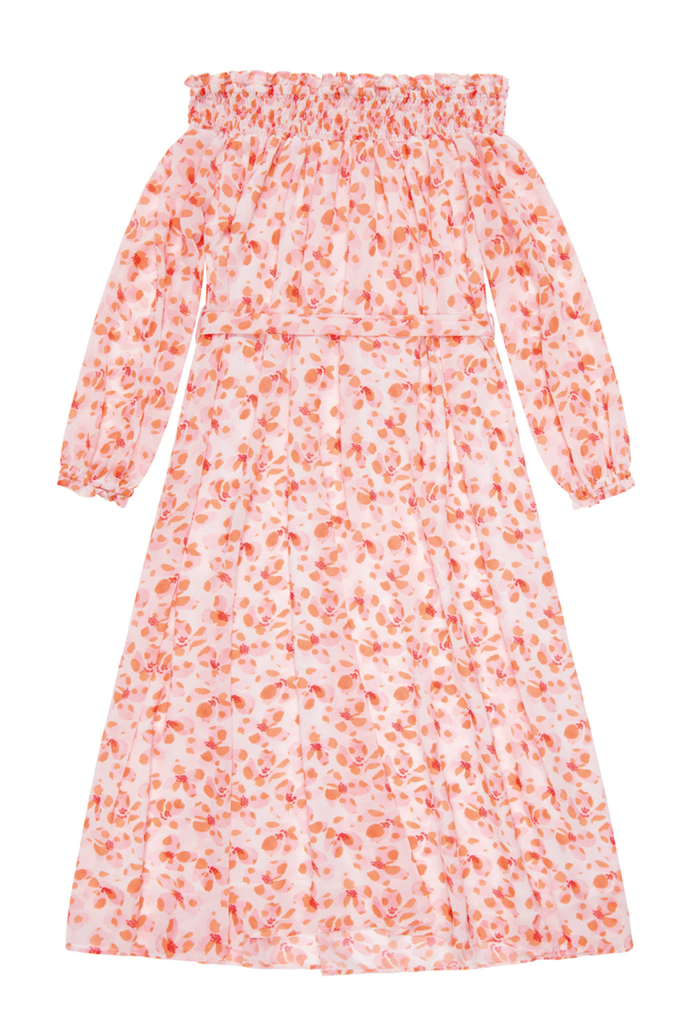 Narelle Floral Bardot Dress