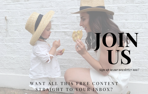 Mother and Daughter Matching Outfits - Sign up to our newsletter