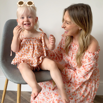 Mum and Daughter Matching Outfits Testimonial