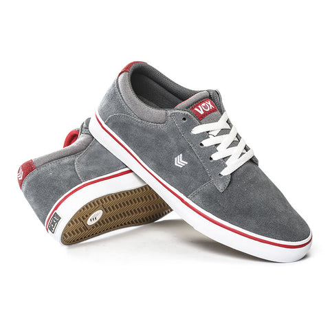 NOVA - Dark Gray/White/Red