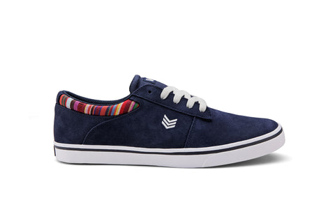 NOVA - Navy/Stripe Canvas