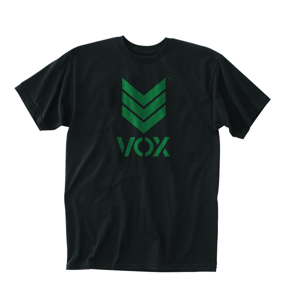 Trademark Black/Green Tee