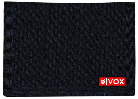 VOX Velcro Black Wallet