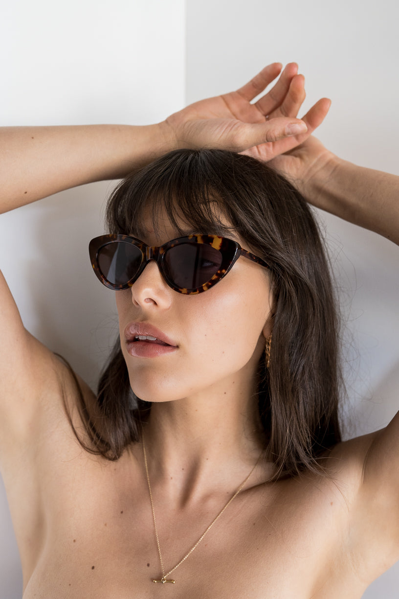 The Harley, Tort - Women's Sunglasses & Eyewear by Luv Lou