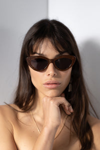 The Harley, Glitter Brown - Women's Sunglasses & Eyewear by Luv Lou