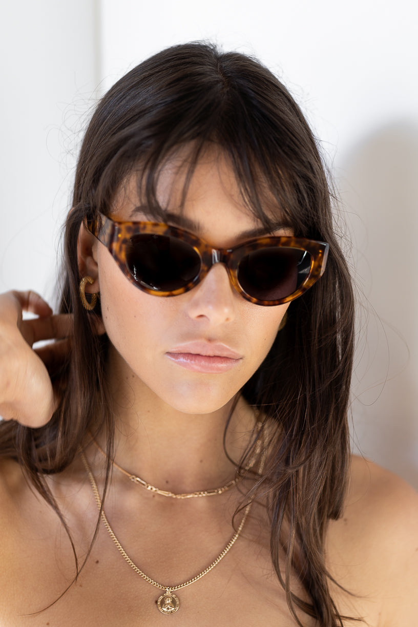 The Dillon, Tort - Women's Sunglasses & Eyewear by Luv Lou
