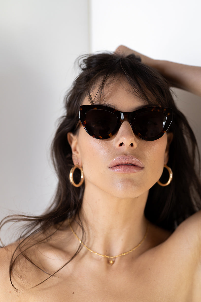 The Jayde, Tort - Women's Sunglasses & Eyewear by Luv Lou