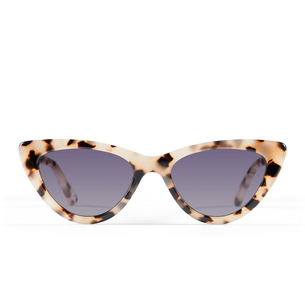 The Leui, Cream Tort - Women's Sunglasses & Eyewear by Luv Lou