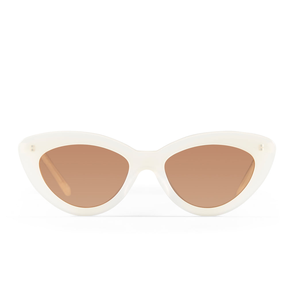 The Harley, Cream - Women's Sunglasses & Eyewear by Luv Lou