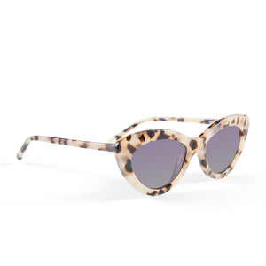 The Harley, Cream Tort - Women's Sunglasses & Eyewear by Luv Lou
