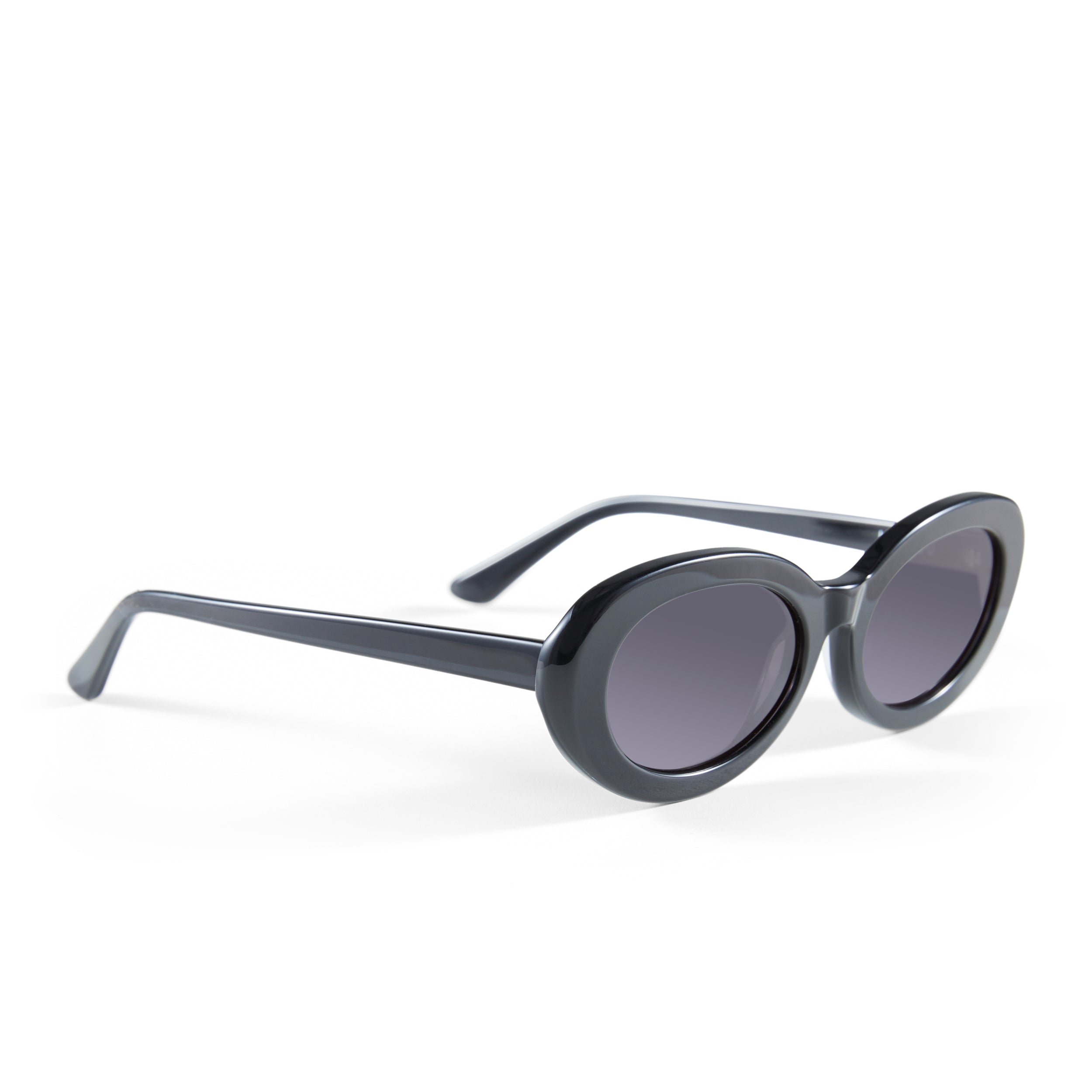 The Estelle, Jet Black - Women's Sunglasses & Eyewear by Luv Lou