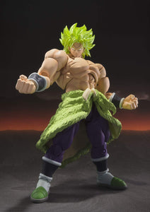 Super Saiyan Broly Full Power S.H. Figuarts Action Figure In Stock!