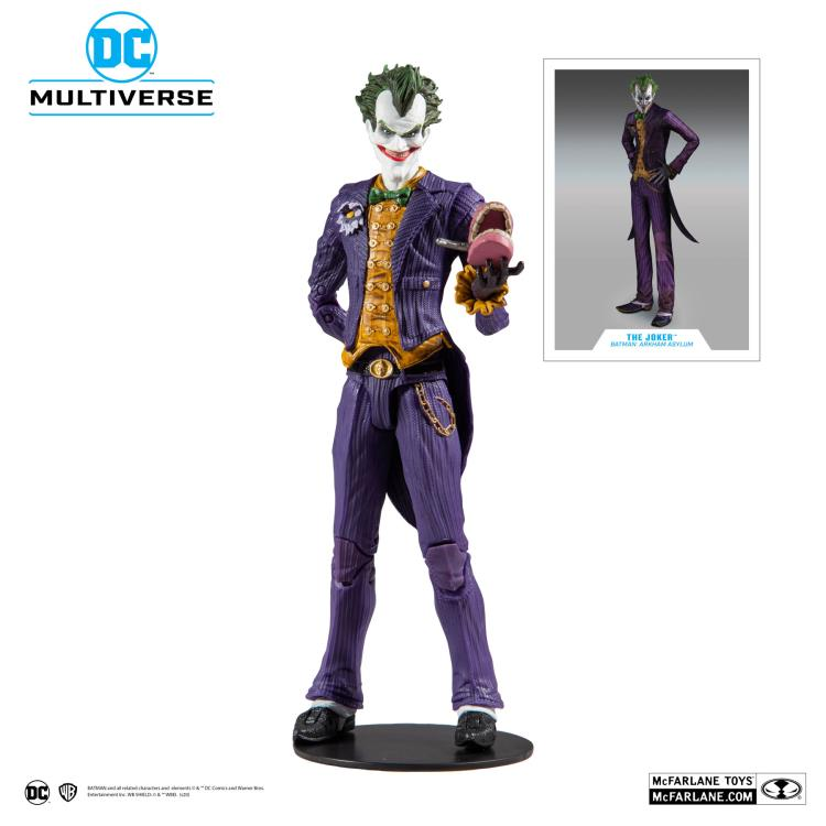 Batman & The Joker Arkham Asylum Action Figures from McFarlane Toys!