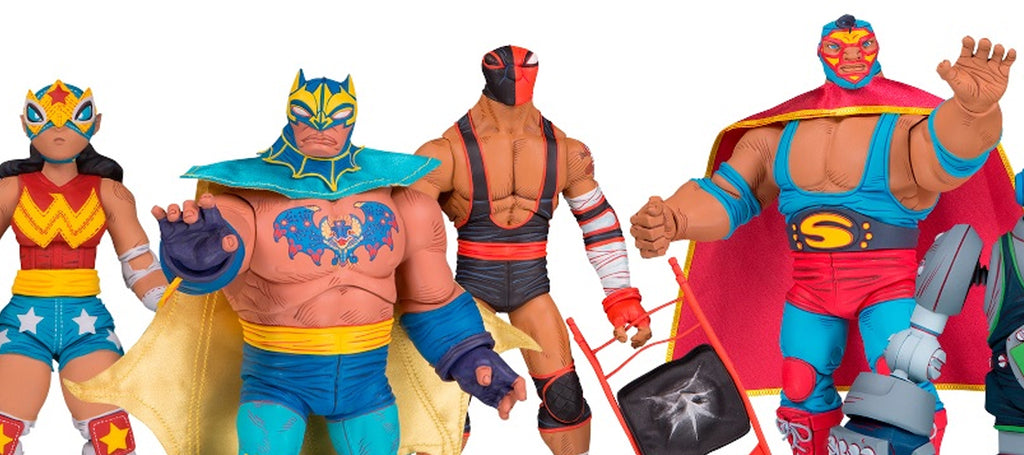 DC Collectibles Cancels Lucha Explosiva Action Figure Line