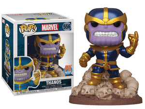 "Funko POP! Marvel ~ THANOS ""THE SNAP"" VINYL FIGURE ~ Comic Version PX Exclusive IN STOCK"