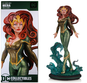 DC Cover Girls Mera Statue designed by Joelle Jones in stock!