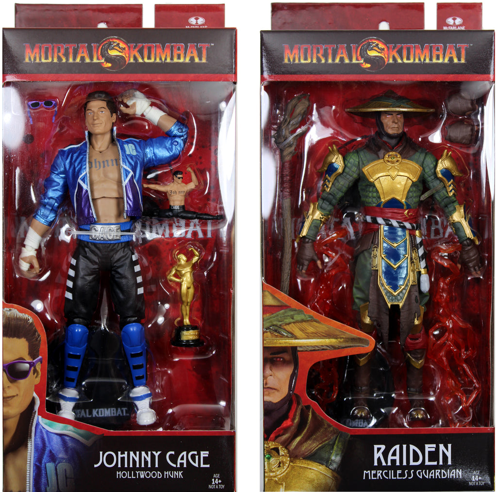 MORTAL KOMBAT SERIES 2 ACTION FIGURES FROM MCFARLANE TOYS HAVE ARRIVED!