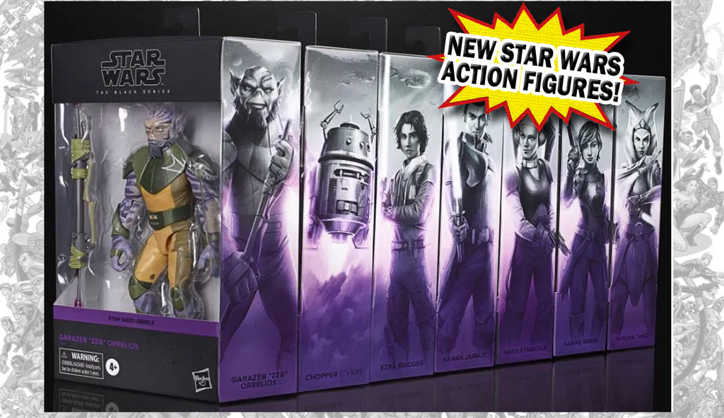 More New Star Wars Black Series Action Figures from Hasbro!