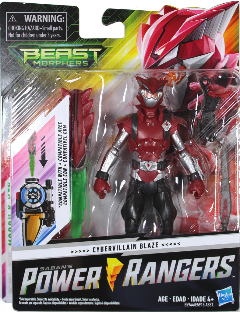 Power Rangers Beast Morphers Series 1 Action Figures from Hasbro