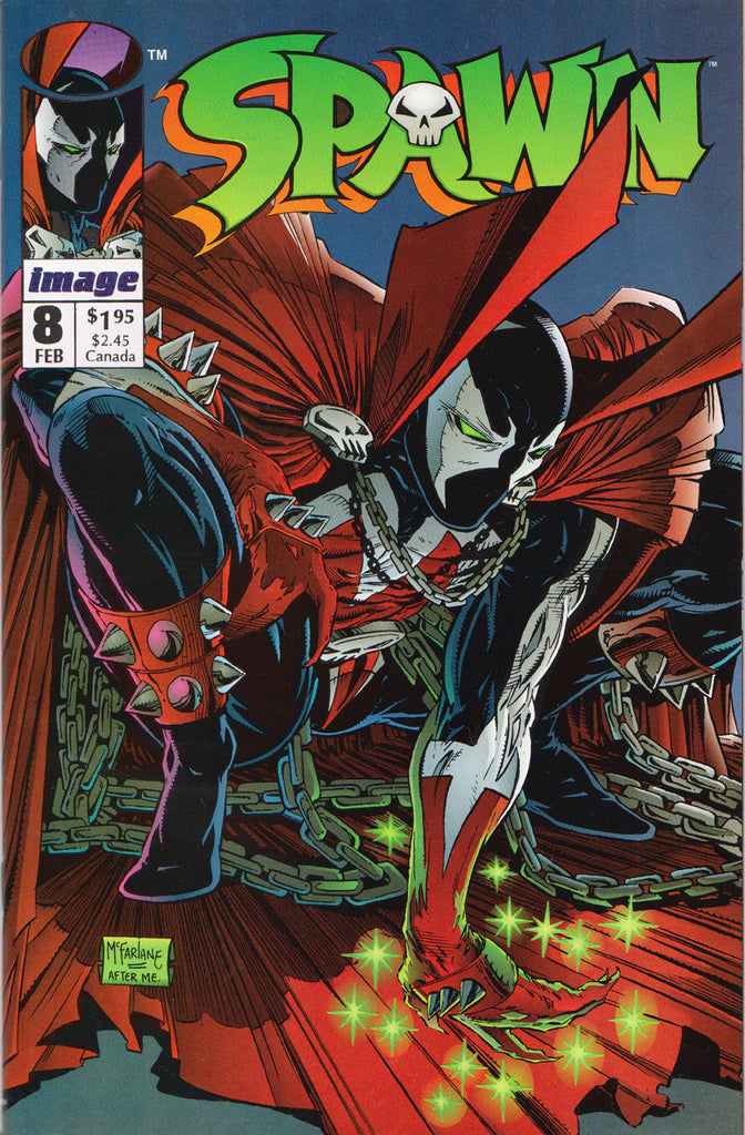 Spawn comics added!  #1-12, 16, 22, 25, and various minis