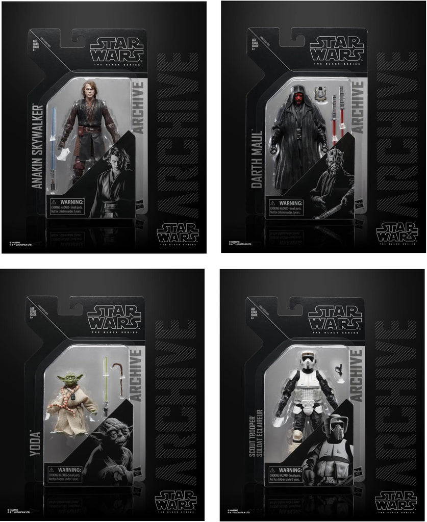 Star Wars Archive Wave 2 Action Figure Set - Pre-Order Now!