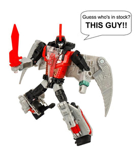 Transformers Generations Selects Ricochet and Red Swoop Deluxe Class Action Figures In Stock!