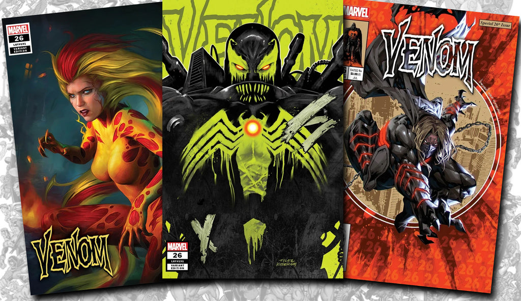 More Venom #26 Exclusive Variant Comics!