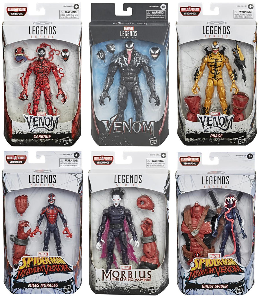Venom Series 2 Action Figures - VENOMPOOL!!!!