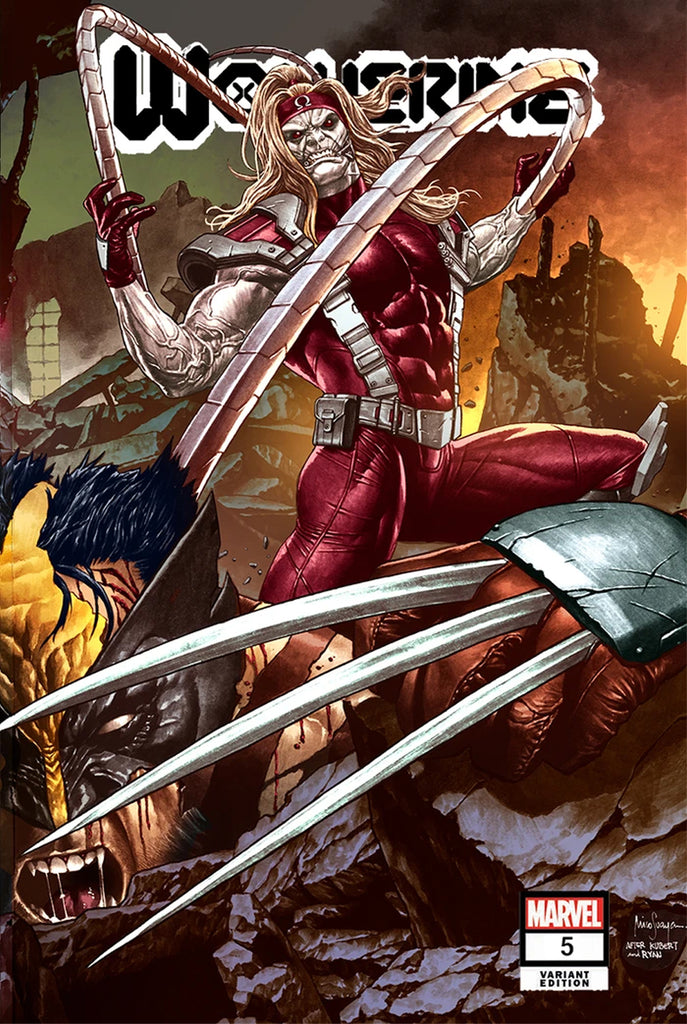 Wolverine #5 Exclusive Variants from Jay Anacleto and Mico Suayan!