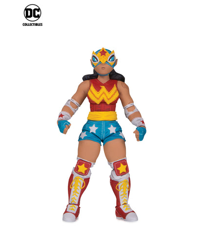 DC Collectibles ~ LUCHA EXPLOSIVA! WONDER WOMAN ACTION FIGURE