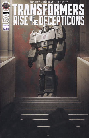 TRANSFORMERS: RISE OF THE DECEPTICONS #23 (COVER A VARIANT) COMIC BOOK ~ IDW