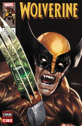 WOLVERINE #1 (MICO SUAYAN C2E2 2020 EXCLUSIVE VARIANT) ~ Marvel Comics