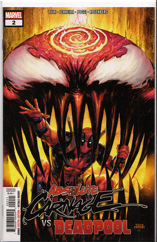 ABSOLUTE CARNAGE vs. DEADPOOL #2 (TYLER KIRKHAM VARIANT) COMIC BOOK ~ Marvel Comics