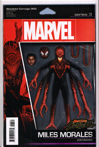 ABSOLUTE CARNAGE #3 (ACTION FIGURE VARIANT) COMIC BOOK ~ Marvel Comics