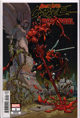 ABSOLUTE CARNAGE vs. DEADPOOL #1 (VARIANT B) COMIC BOOK ~ Marvel Comics