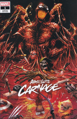 ABSOLUTE CARNAGE #1 (TYLER KIRKHAM EXCLUSIVE VARIANT) COMIC BOOK ~ Marvel Comics