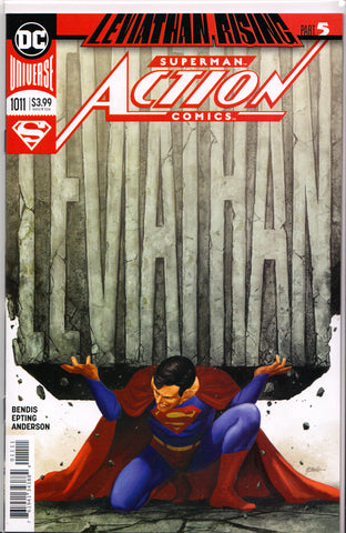ACTION COMICS #1011 (STEVE EPTING VARIANT) COMIC BOOK ~ DC Comics