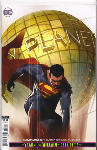 ACTION COMICS #1014 (YEAR OF THE VILLAIN VARIANT) COMIC BOOK ~ DC Comics