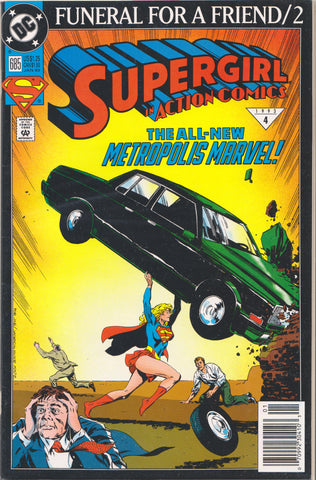 ACTION COMICS #685 COMIC BOOK ~ DC Comics