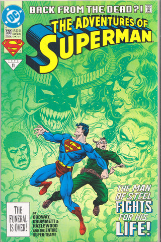 ADVENTURES OF SUPERMAN #500 (REGULAR) COMIC BOOK ~ DC Comics