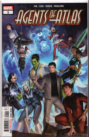 AGENTS OF ATLAS #1 (1ST PRINT) COMIC BOOK ~ Marvel Comics
