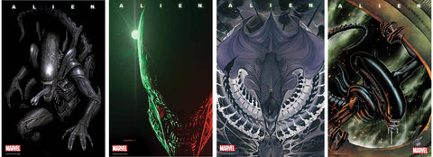 ALIEN COMIC BOOK SET (ALL 8 REGULAR VARIANTS)(2021) ~ Marvel Comics
