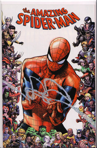 AMAZING SPIDER-MAN #28 (80TH ANNIVERSARY FRAMED VARIANT) COMIC BOOK ~ Marvel Comics