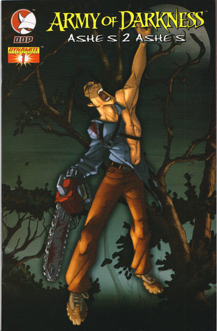 "ARMY OF DARKNESS: ASHES 2 ASHES #1 (RETAILER ""THANK YOU"" VARIANT) COMIC BOOK ~ Devil's Due/Dynamite"