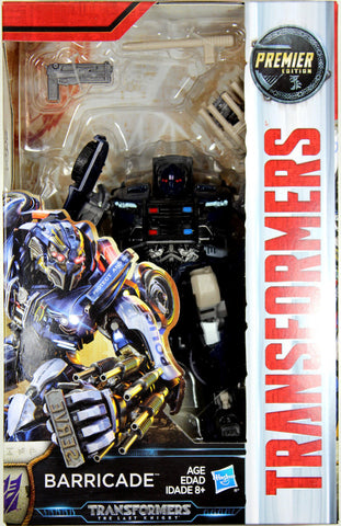 Transformers: Last Knight ~ BARRICADE ACTION FIGURE ~ Deluxe Class