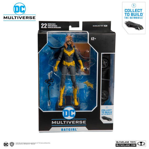 DC Multiverse Collector Wave 1 ~ 7-INCH BATGIRL ACTION FIGURE ~ McFarlane Toys