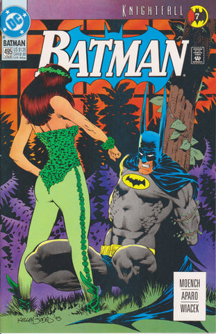 BATMAN #495 COMIC BOOK ~ Norm Breyfogle Cover ~ DC Comics