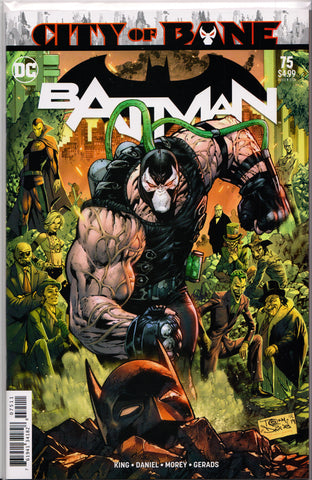 BATMAN #75 (TONY DANIEL VARIANT) COMIC BOOK ~ DC Comics