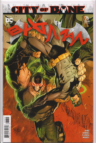 BATMAN #76 (2ND PRINT)(TONY DANIEL VARIANT) COMIC BOOK ~ DC Comics