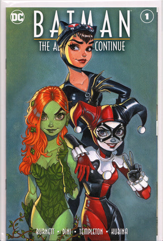 BATMAN: THE ADVENTURES CONTINUE #1 (CHRISSIE ZULLO EXCLUSIVE VARIANT COVER) ~ DC Comics